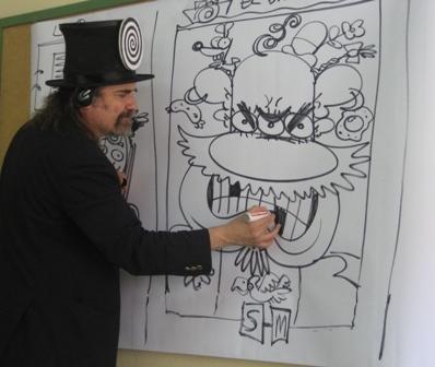 Así dibuja Gustavo Otero