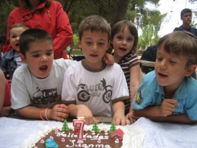 El cumpleaños de JuanMa