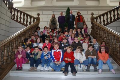 Nuestra visita al Ayuntamiento