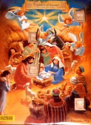 Nuestro calendario de Navidad....