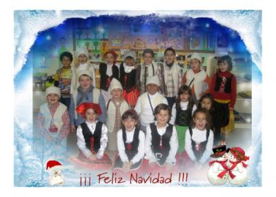 Actuación de Navidad 2009