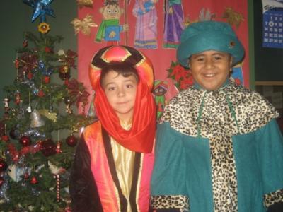 La fiesta de Navidad...