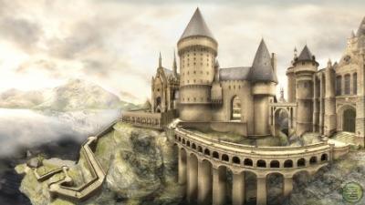 Una noticia curiosa...Arde el castillo de Harry Potter