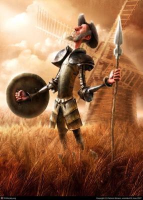 El Quijote en la calle