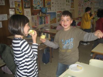 Plan de consumo y fruta en la escuela